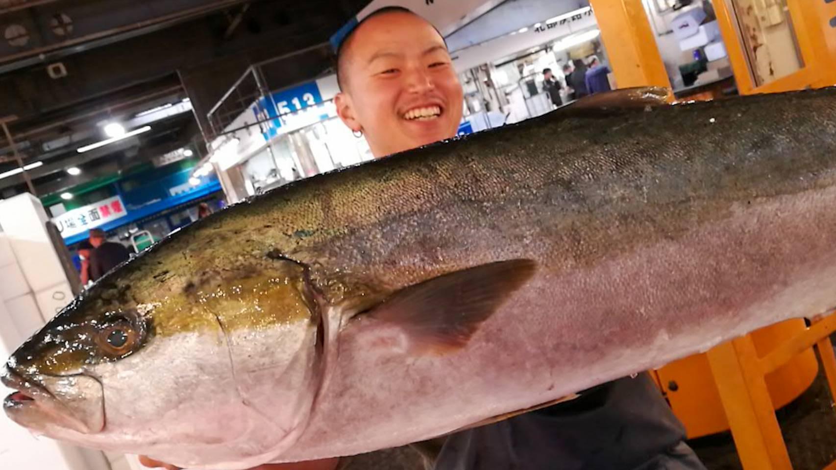 高級魚ヒラマサ